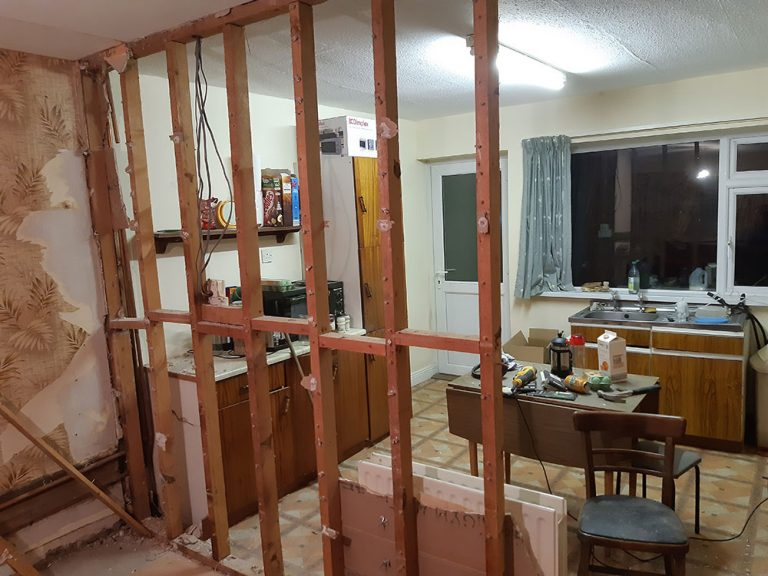 The cost of renovating an investment property in Ireland - demolition