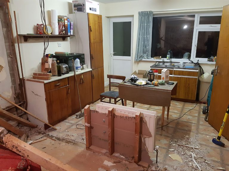 The cost of renovating an investment property in Ireland - open plan