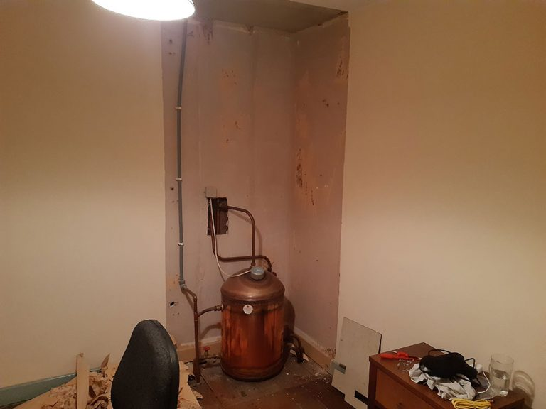 Cost of renovating an investment property old wardrobe/hotpress