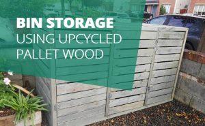 bin storage pallet wood