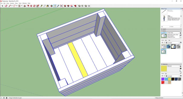 sketchup-pallet-wood-planter-base-problem